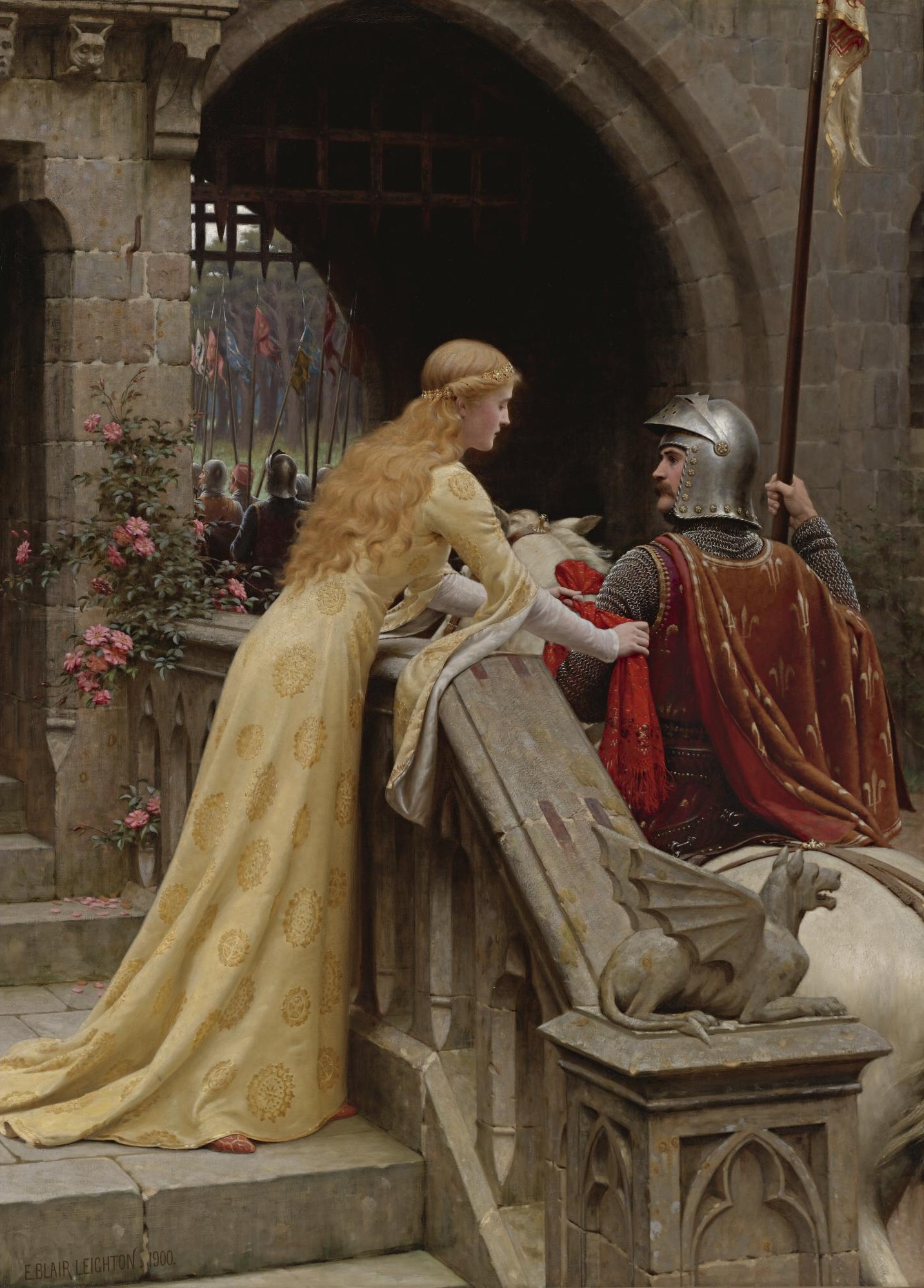 God Speed, by Edmund Blair Leighton, 1900