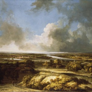 A Panoramic Landscape by Philips Koninck, 1665