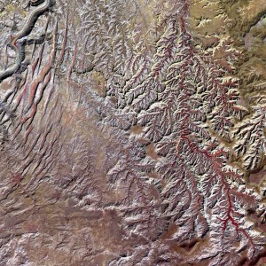Earth from Space: Canyonlands National Park, Utah, by NASA