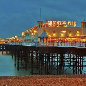 Brighton Pier by Andrea Pucci