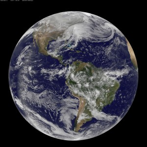 Earth from Space: Powerful Winter Storm Pax, 2014, by NASA