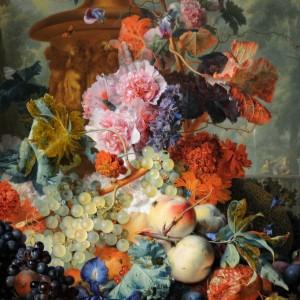 Fruit Piece by Jan van Huysum, 1722