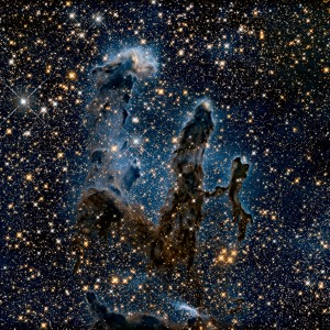 The Iconic 'Pillars of Creation' by NASA