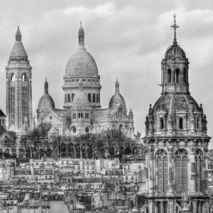 Montmartre, Paris, by Didier Kobi