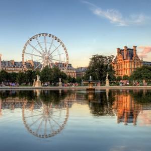 Jardin des Tuileries, Paris, by Anthony Gelot