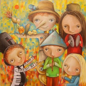 Believe: Fantastical Storybook Paintings by Monica Blatton, Part 1