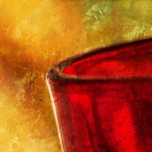 Verre Rouge by Emmanuel Cateau