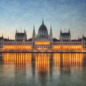 Budapest Parliament Building by Conor MacNeill