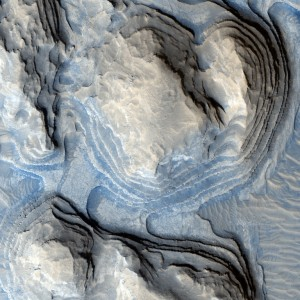 Beautiful Abstract Art Patterns on the Surface of Mars