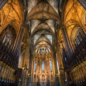 Barcelona's Gothic Cathedral by Conor MacNeill