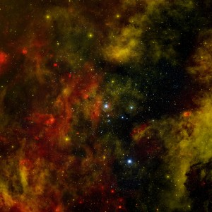 Massive Star Cluster Cygnus OB2, NASA, Chandra, November 2012