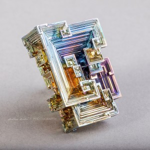 Bismuth Crystal by Didier Kobi