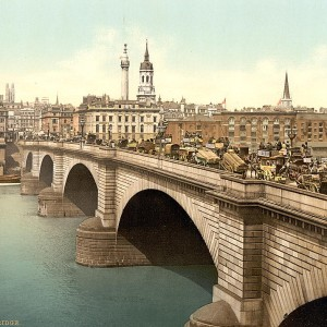 Scenes from London in the 1890s