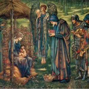 The Star of Bethlehem by Edward Burne-Jones, 1890