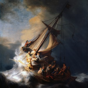 Famous Stolen Painting: The Storm on the Sea of Galilee by Rembrandt, 1633