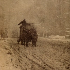 Winter - Fifth Avenue, by Alfred Stieglitz, 1892