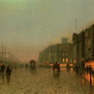 Rainy Nights: Paintings by John Atkinson Grimshaw, 1800s