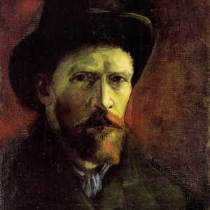Vincent Van Gogh: Self-Portrait with Dark Felt Hat, 1886