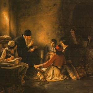 The Secret School by Nikolaos Gyzis, 1886