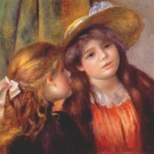 Two Girls by Pierre Auguste Renoir, 1892