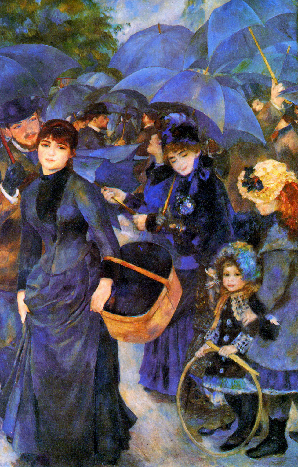 The Umbrellas by Pierre Auguste Renoir, 1886