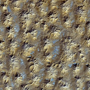 Earth from Space: Star Dunes in Algeria by NASA