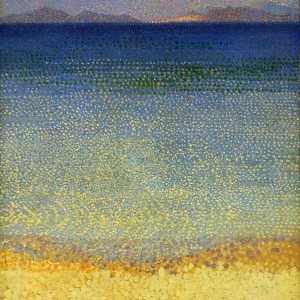 Les Iles d'Or (The Golden Isles) by Henri-Edmond Cross, circa 1891 - 92