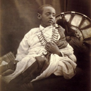 Déjatch Alámayou, King Theodore's Son, Photography by Julia Margaret Cameron, July 1868