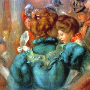 A Box in the Théâtre des Variétés by Pierre-Auguste Renoir, 1898