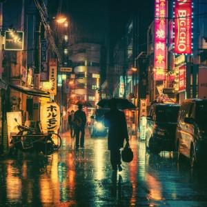 Rainy Night in Tokyo:  Brilliant Photography by Masashi Wakui