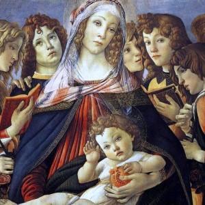 Madonna of the Pomegranate by Sandro Botticelli, circa 1487