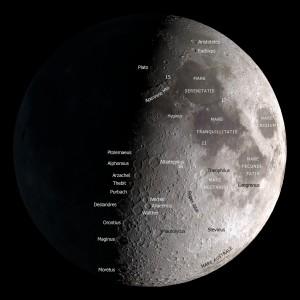 Moon Map by NASA