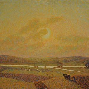 Sun on the Fields, by Ester Dorotea Almqvist, 1914