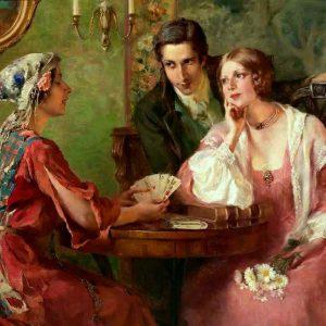 The Fortune Teller by Otolia Kraszewska