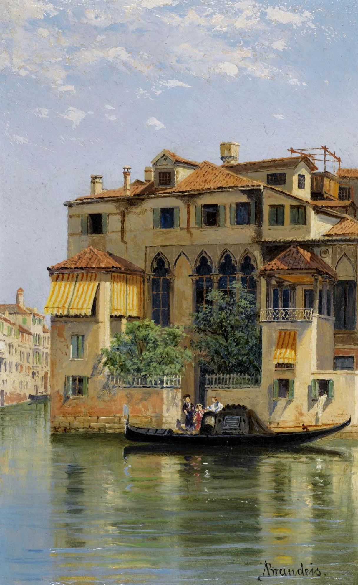 Antonietta Brandeis - Palazzo Falier, Venice