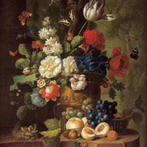 Flowers by Jan van Os