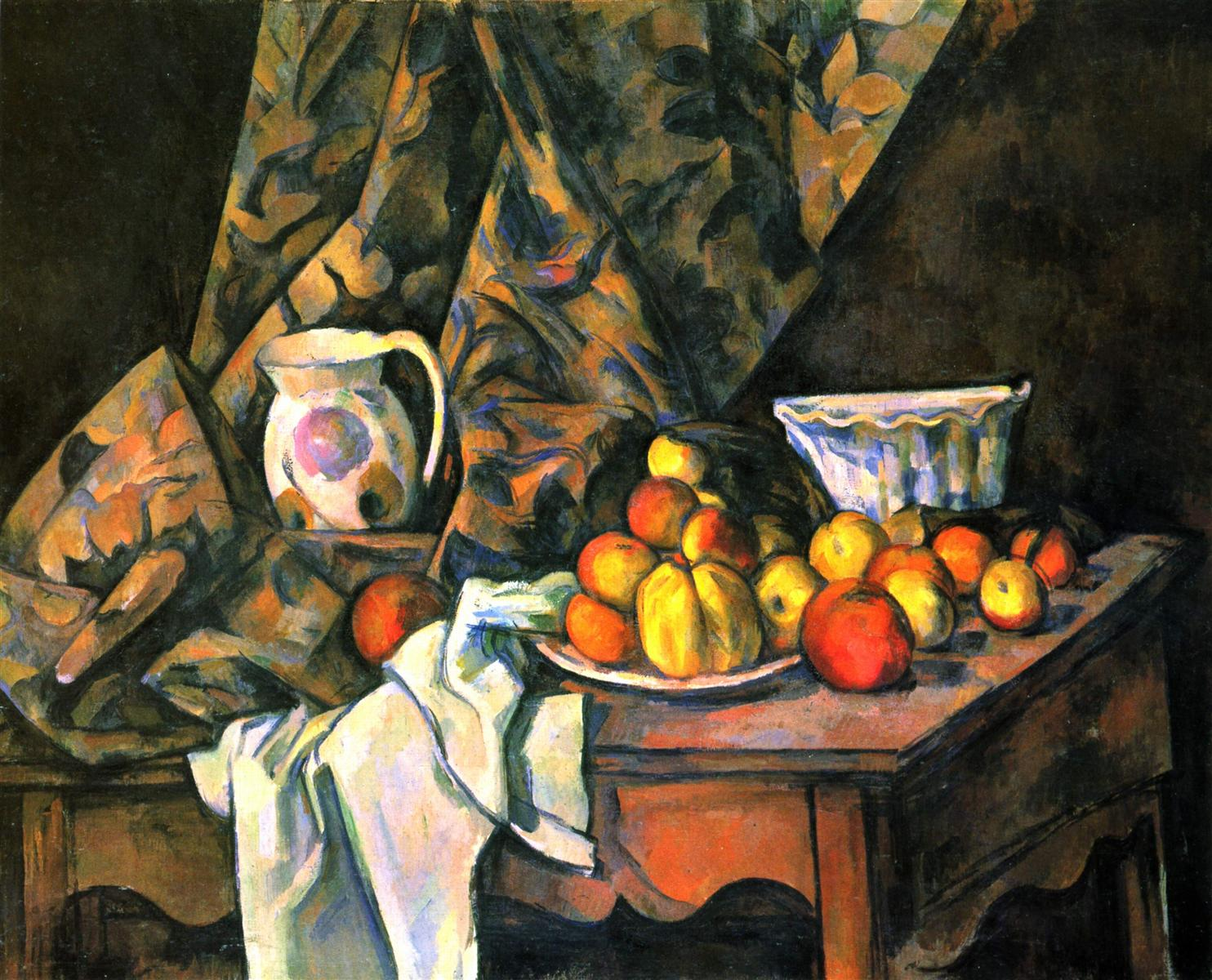 Paul Cezanne - Still Life with  Flower Holder-1905