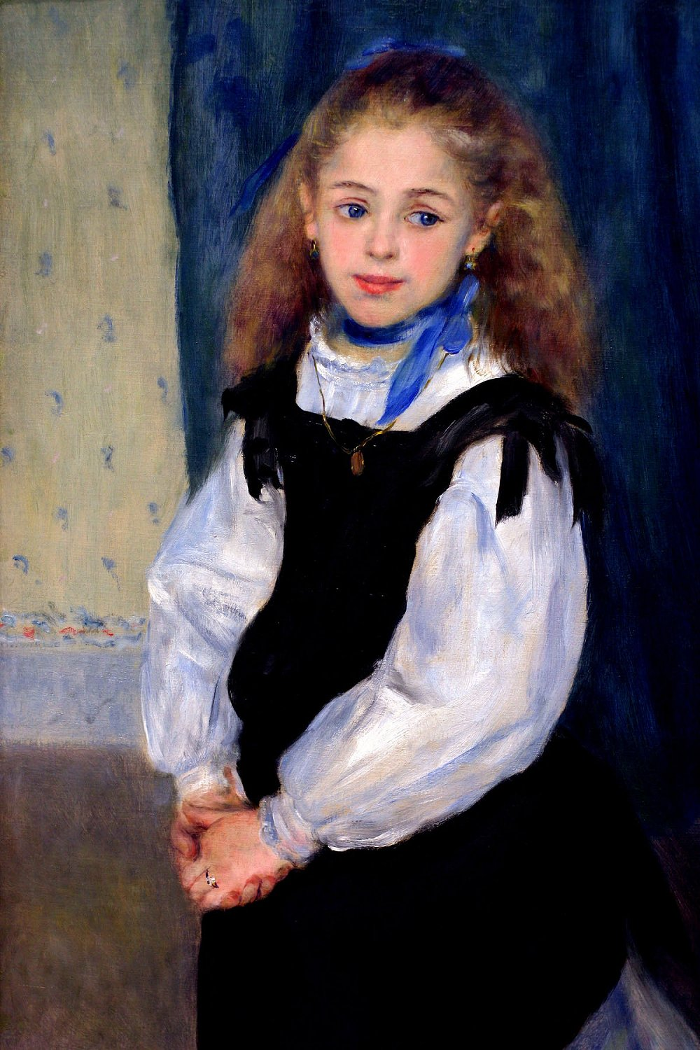 Portrait of Mademoiselle Legrand by Pierre-Auguste Renoir, 1875