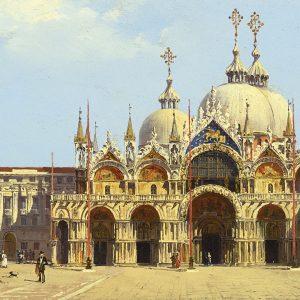 Scenes from Venice, Italy, by Master Painter Antonietta Brandeis