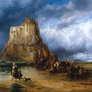 Mont St. Michel, Normandy, France, by James Webb