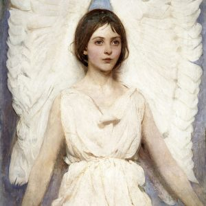 Angel, by Abbott Handerson Thayer, 1887