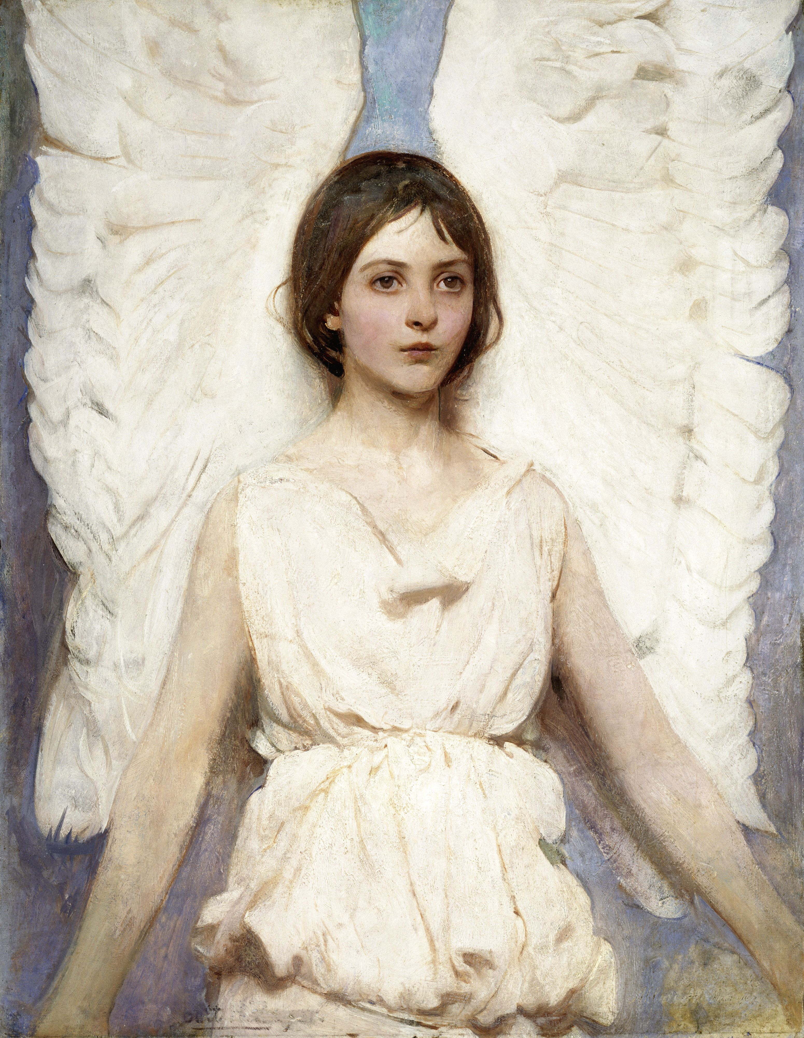 Angel, by Abbott Handerson Thayer, 1887