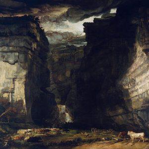 Gordale Scar, by James Ward, circa 1812