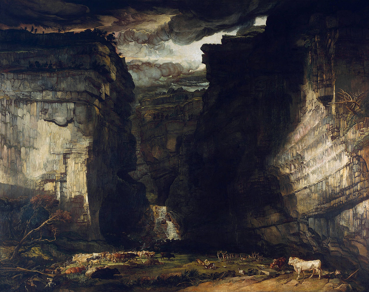 James Ward - Gordale Scar, circa 1812 - 1280px