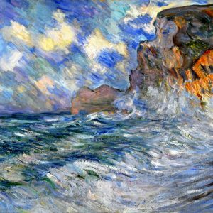 The Cliffs at Étretat by Lilla Cabot Perry