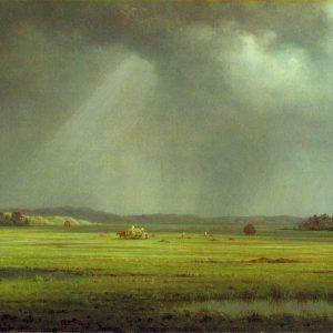 Newburyport Meadows, by Martin Johnson Heade