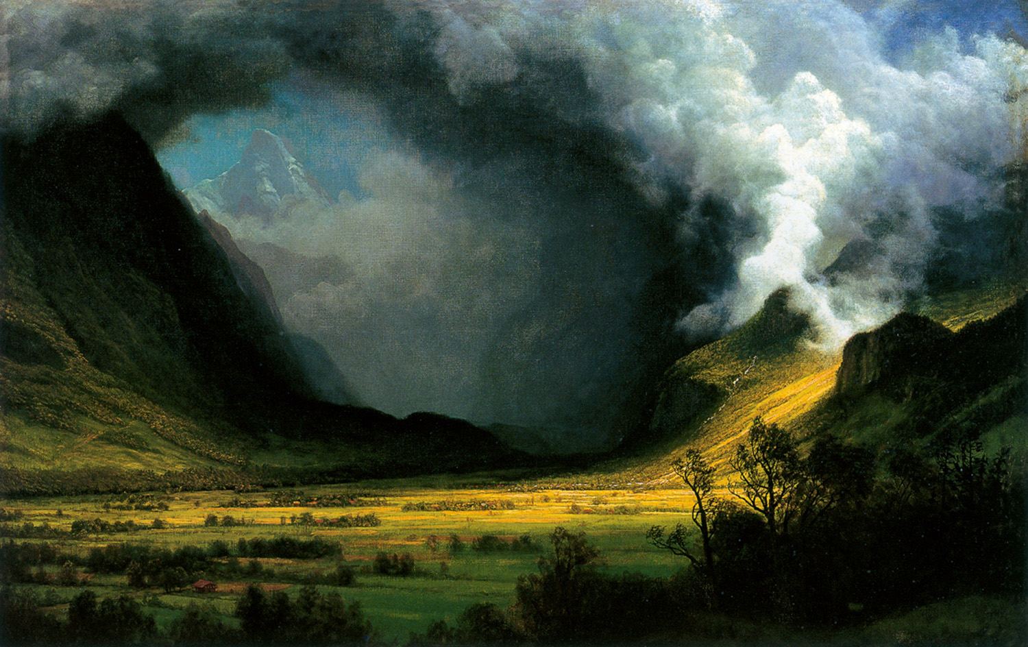 Storm in the Mountains, by Albert Bierstadt, circa 1870