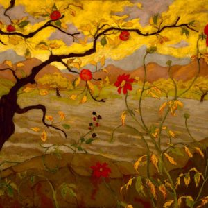 Apple Tree with Red Fruit, by Paul Ranson, circa 1902
