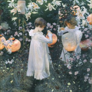 Carnation, Lily, Lily, Rose, by John Singer Sargent, 1885-6