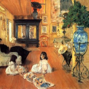 Hall at Shinnecock, by William Merritt Chase, 1892